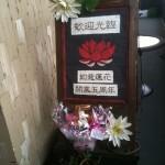 「Luster Lotus」佐久よし美氏の空間演出