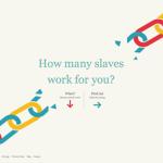 Slavery Footprint「奴隷の足跡」