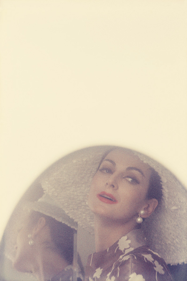 ソール・ライター 《カルメン、『Harper's Bazaar』》 1960年頃 発色現像方式印画